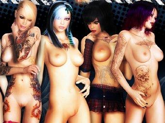 3D Bad Girls galeries sexe