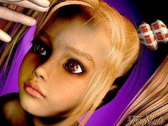 3D adolescent salopes