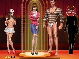 Gangsters sexuels réels en adulte jeu mobile
