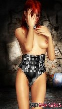 rousse corset
